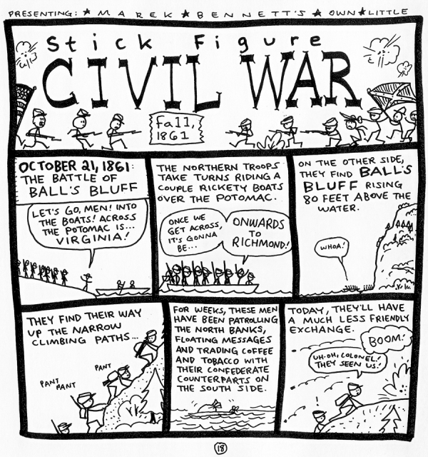 1861-CivilWar-BallsBluff-01-www.MarekBennett.com