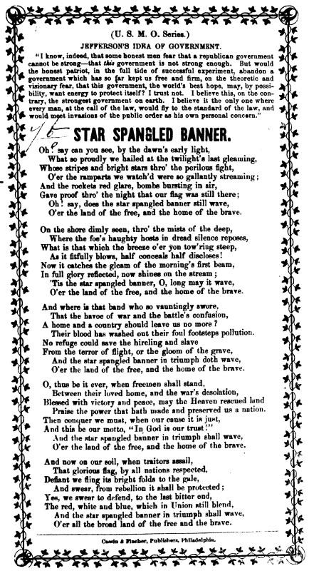 Star Spangled Banner + JEFFERSON