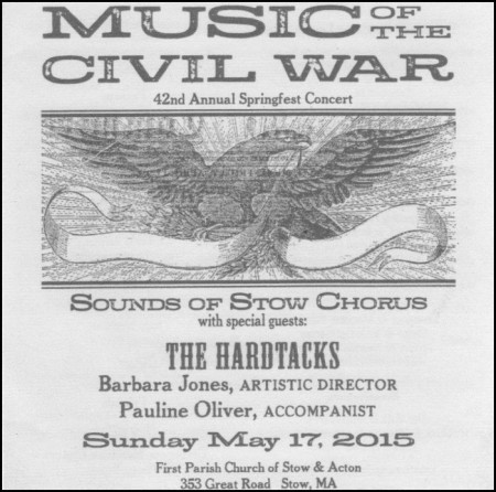 """""""Music of the Civil War"""" front cover"""
