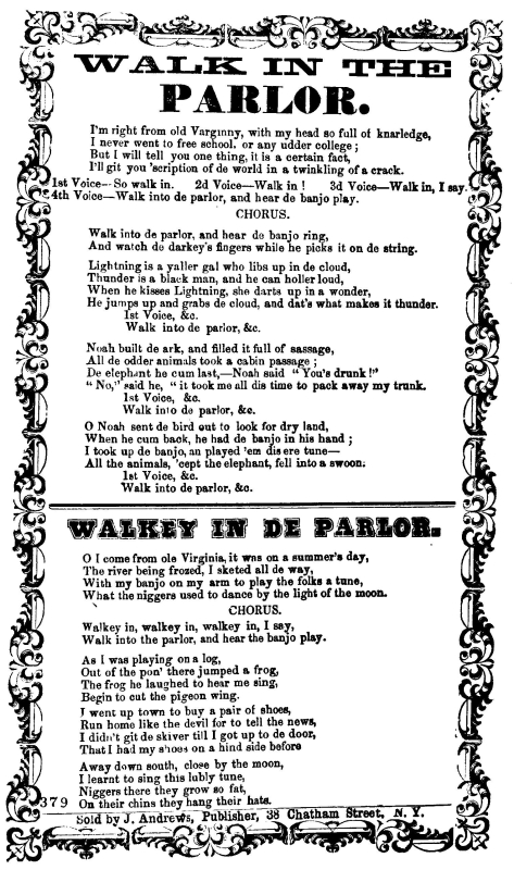 Walk In The Parlor 1668