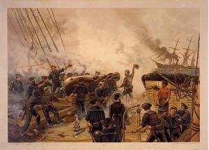1864-Kearsarge_and_Alabama(1887)